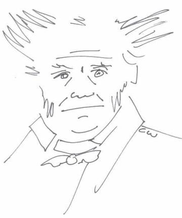 arthur schopenhauer portrait