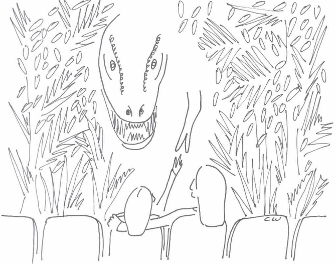 jurassic park colouring book pic