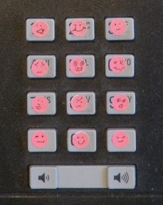 emoticon phone stickers