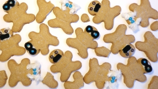 existentialist gingerbread men