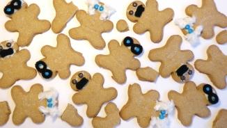existentialist gingerbread men