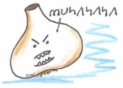 evil garlic bulb