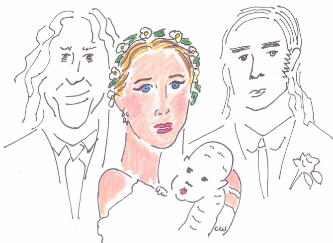 peaches geldof wedding pictures