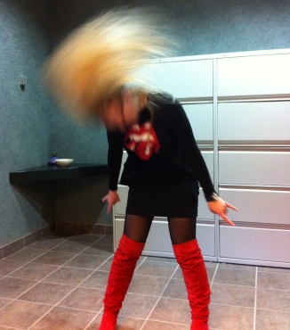 office head banging